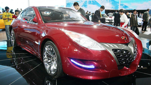 Masina chinezeasca Geely Tiger GT