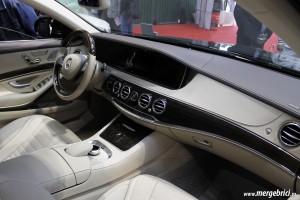 Mercedes S Class - interior - SAB 2013