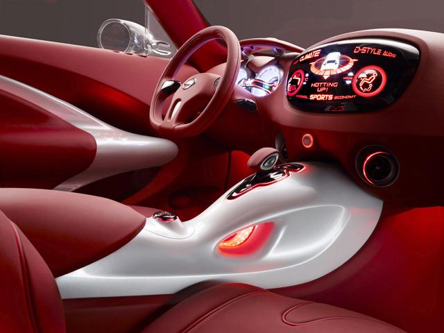 Nissan Qazana Concept - design interior