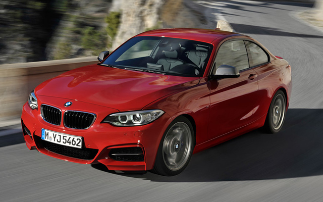 BMW Seria 2 Coupe 2014 (fata)
