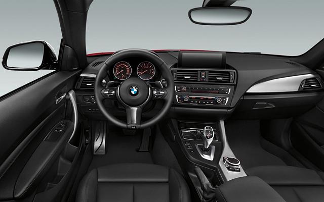 BMW Seria 2 2014 (interior)