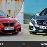 BMW Seria 2 vs Mercedes Clasa C 2014