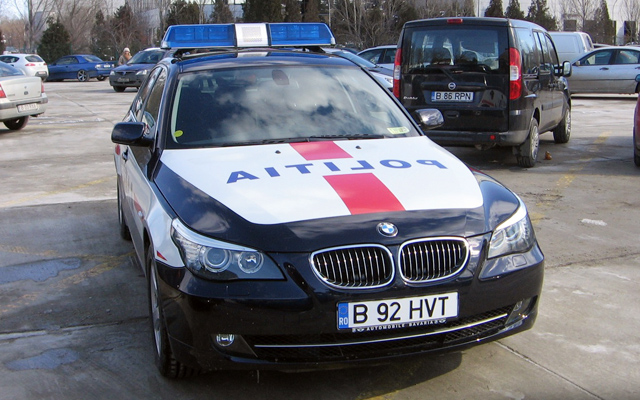 Masina de politie - BMW Seria 5