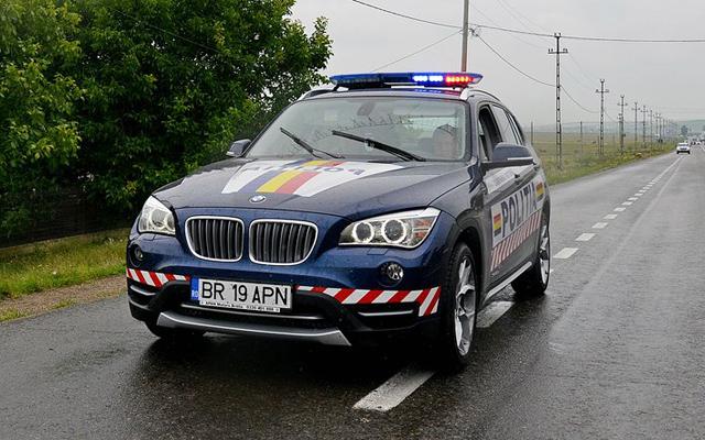 Masina de politie - BMW X1