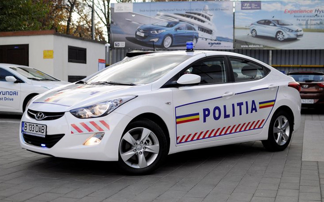 Masina de politie - Hyundai Elantra