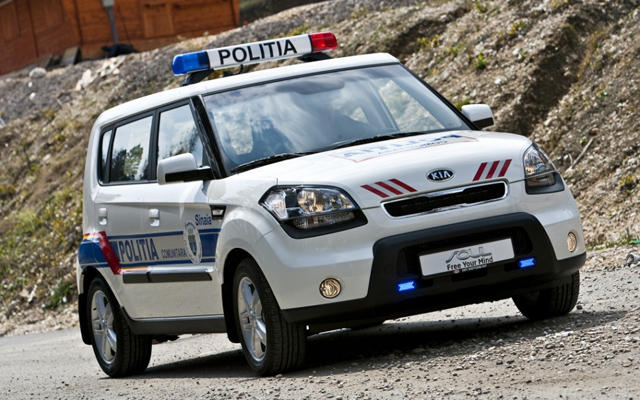 Masina de politie - KIA Soul