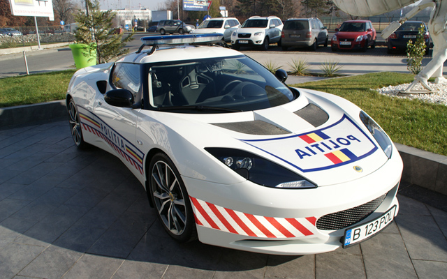 Masina de politie - Lotus Evora