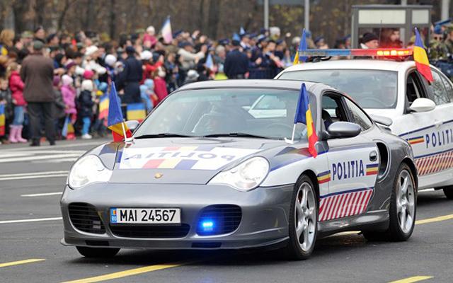 Masina de politie - Porsche 911 Turbo