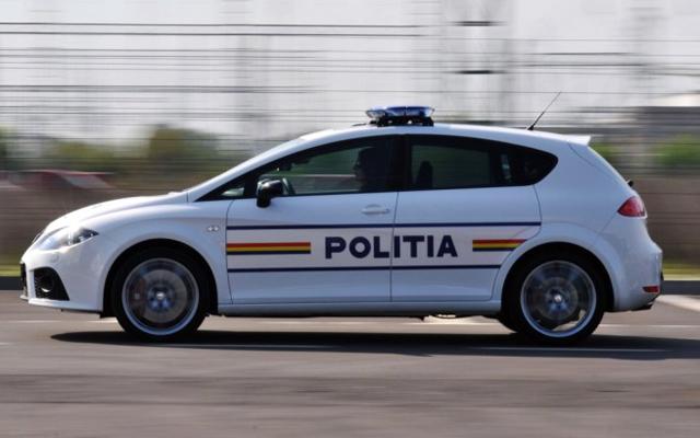 Masina de politie - Seat Leon Cupra