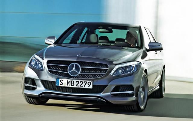 Mercedes Clasa C 2014 (fata)