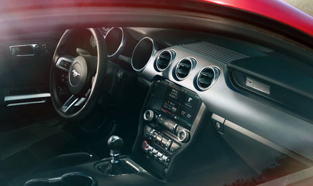 Interior Ford Mustang 2015