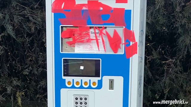 Automat de parcare mazgalit in IOR