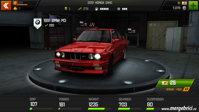 Joc masini: Fast & Furious 6 - masina