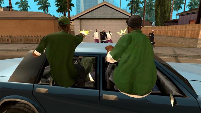 Joc masini: GTA San Andreas (Android)