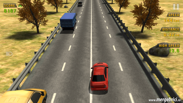 Joc masini: Traffic Racer - sosea