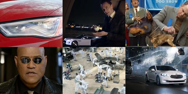 Primele reclame auto interesante din 2014