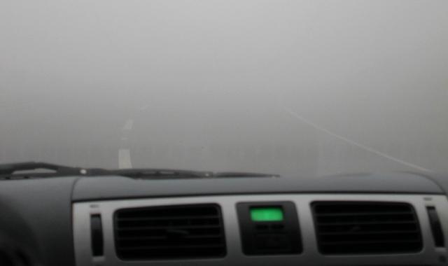 Sfaturi bune pentru condusul pe ceata