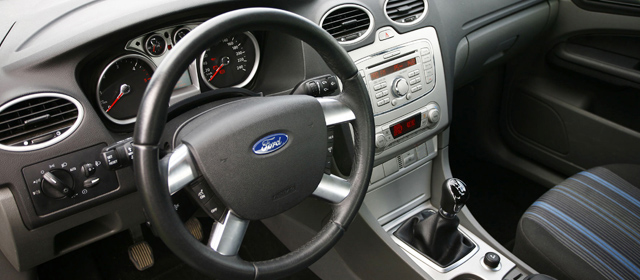Ford Focus 2009 interior - second hand