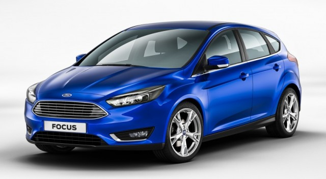 Ford Focus 3 Facelift 2014