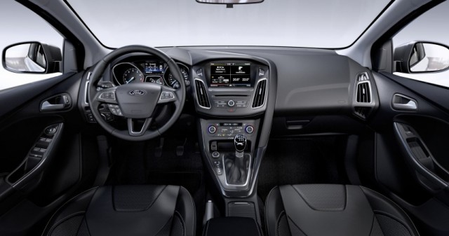 Interior Ford Focus 3 Facelift 2014