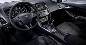 Interior Ford Focus 3 Facelift 2014 - zona volan
