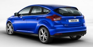 Spate Ford Focus 3 Facelift 2014