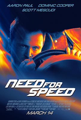 Poster film Need for Speed Inceputuri