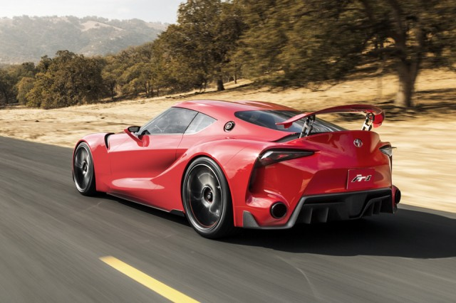 Toyota FT-1 - vedere spate