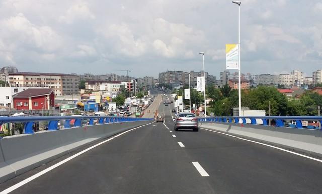 Podul Vacaresti - coborare spre Mihai Bravu