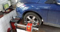 Verificare geometrie roti Ford Focus