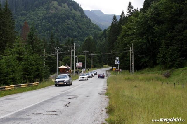 Transfagarasan - trafic intens