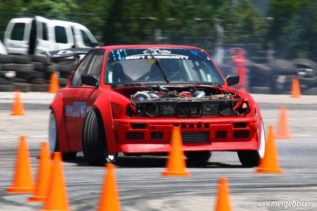 Drift BMW E30 - ATBS 2015