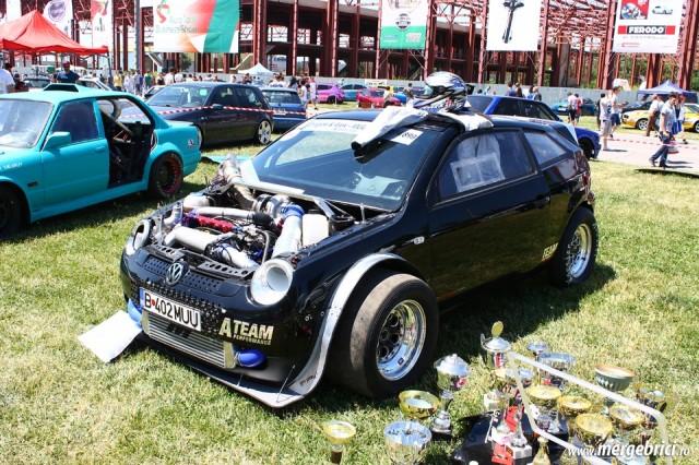 VW Lupo dragster - ATBS 2015