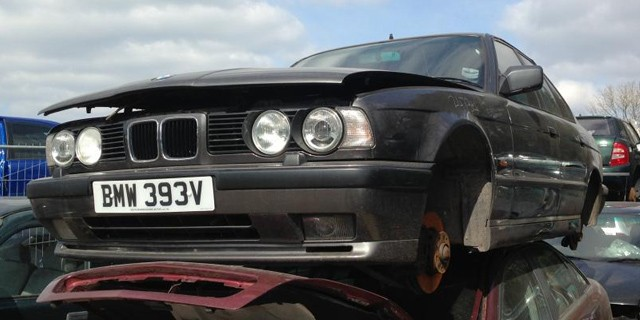 BMW toroapa, cazan, fier vechi