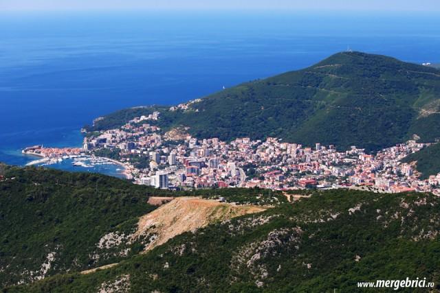 Budva - Muntenegru - vedere de sus