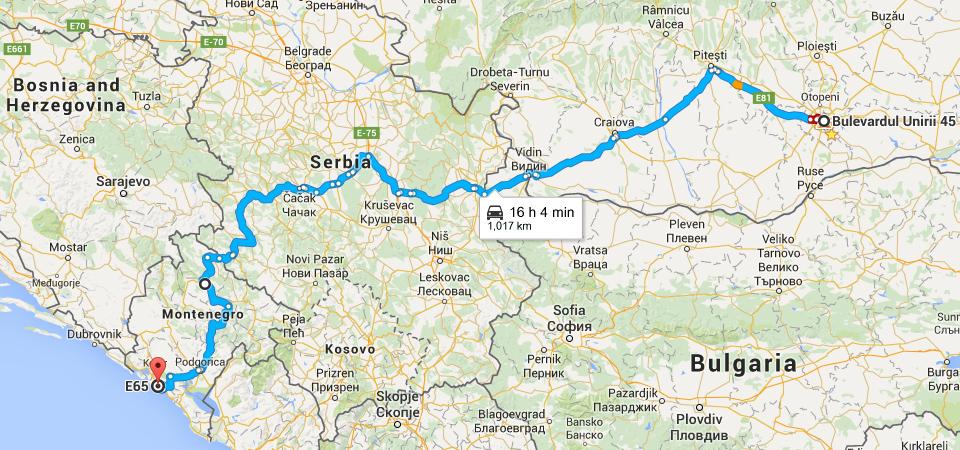 Calatorie Cu Masina In Muntenegru Prin Serbia Merge Brici