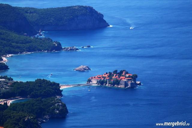 Insula Sf Stefan - Muntenegru