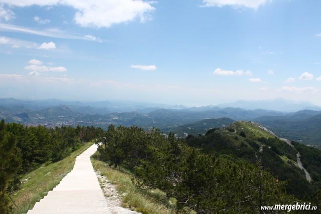 Lovcen - varf de munte in Muntenegru