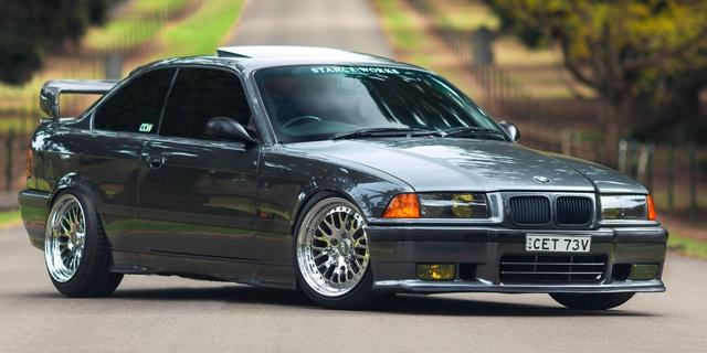 Masina bengoasa - BMW E36 tunat