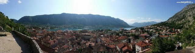 Panorama Kotor - Muntenegru