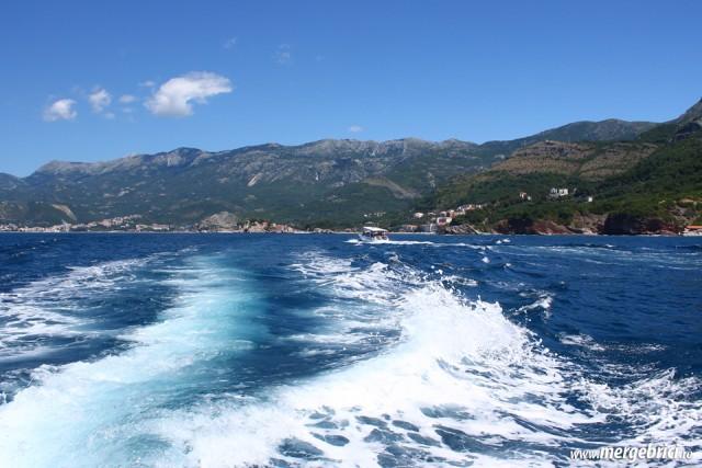Pe mare in Muntenegru