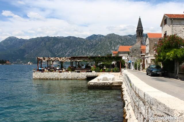 Perast - oras medieval - Muntenegru