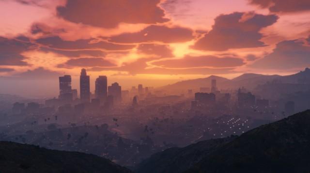 GTA 5 - Oras la apus