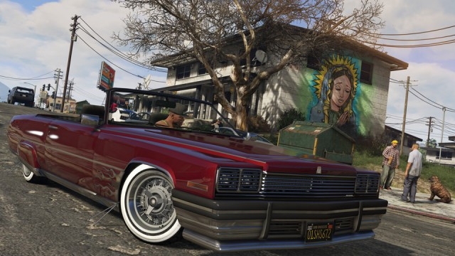 GTA 5 PC - Low rider - Grafica realista
