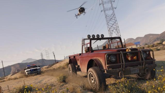 GTA 5 PC - Trevor si fuga de politie
