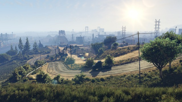 GTA 5 PC - Zona rurala industriala
