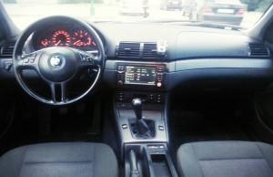 BMW 320D E46 interior