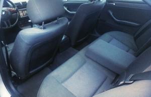 BMW 320D E46 bancheta spate