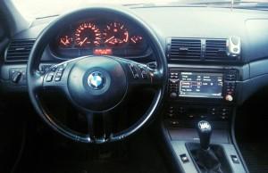 BMW 320D E46 bord