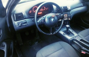 BMW 320D E46 interior bord